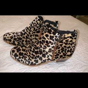 Shoes - Leopard booties